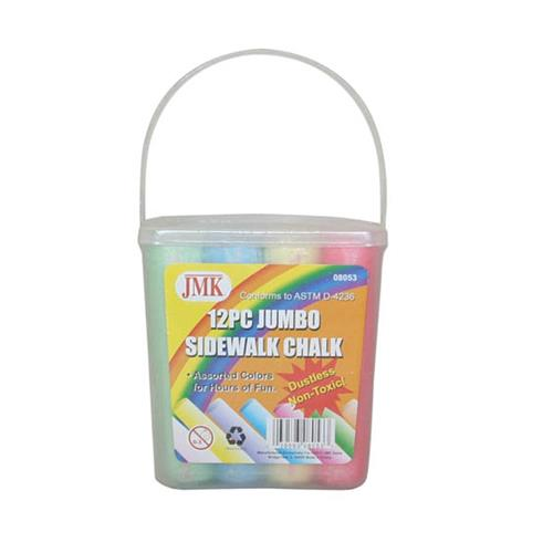 Wholesale 12 COUNT JUMBO SIDEWALK CHALK