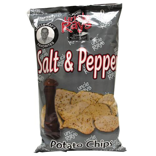 Wholesale Uncle Ray's Potato Chips Salt & Pepper