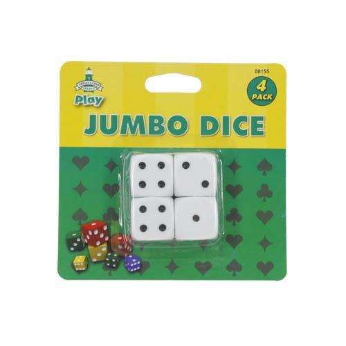 Wholesale 4pk JUMBO DICE
