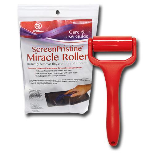 Wholesale Miracle Roller Pristine Screen Cleaner Tool - Red.