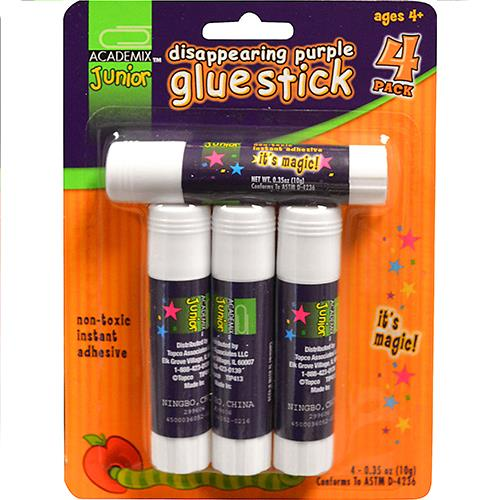 Wholesale 4ct GLUE STICK DISAPPEAR PURPL