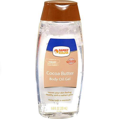 Wholesale COCOA BUTTER BODY OIL GEL