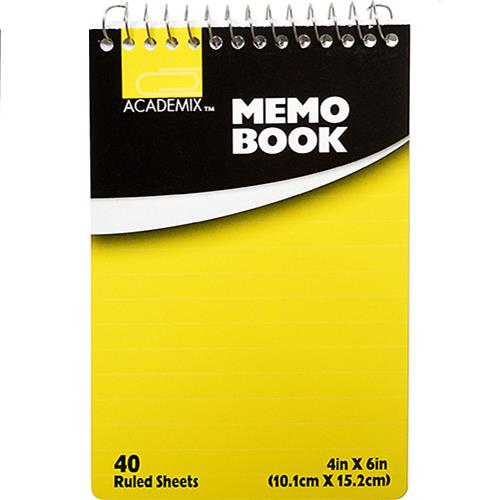 Wholesale MEMO PAD LARGE TOP SPINE 4 X 6