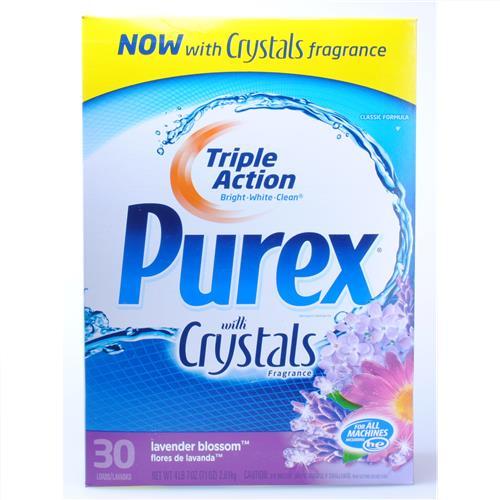 Wholesale Purex HE Powder Detergent Lavender Blossom 30 Load