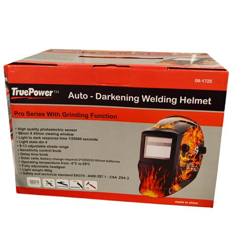 Wholesale AUTO DARKENING WELD HELMET -FLAMES