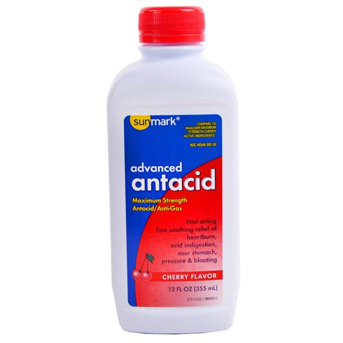 Wholesale Sunmark M/S Antacid Cherry (Maalox) Expires 9/14