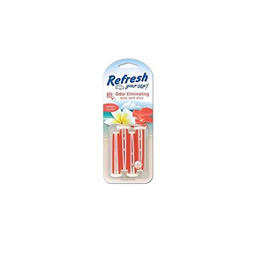 Wholesale 4PK REFRESH VENT STICKS HAWAIIAN SUNRISE