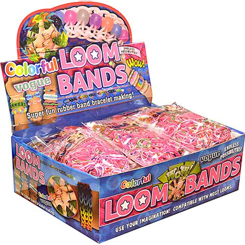 Wholesale 300pc LOOM BANDS- ASST COLORS