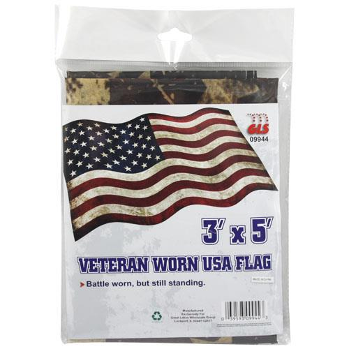 Wholesale USA FLAG 3'x5' VETERAN WORN LO