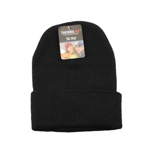 Wholesale WINTER BEANIE HAT BLACK