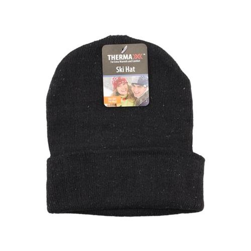 Wholesale THERMAXXX WINTER BEANIE HAT BL
