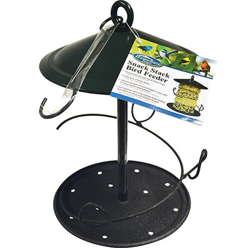 Wholesale Metal Snack Stack Bird Feeder.  11 x 8 x 8""