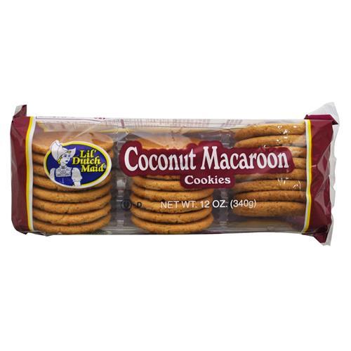 Wholesale Dutchmaid Coconut Macaroo Cookies