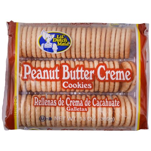 Wholesale Dutchmaid Peanut Butter Sandwich Creme Cookies - GLW