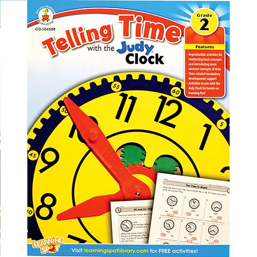 Wholesale TELLING TIME WITH JUDY CLOCK