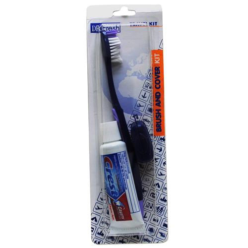 Wholesale Dr. Fresh Crest Travel Pack Toothbrush/Paste/Cover