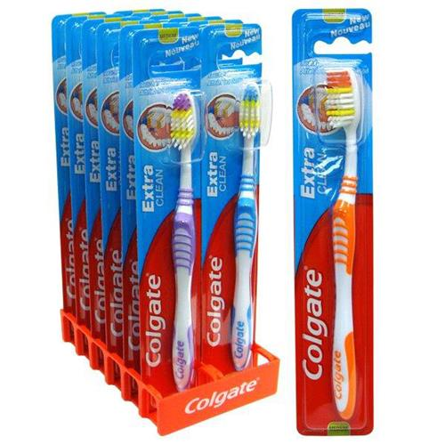 Wholesale Colgate Toothbrush Extra Clean Medium