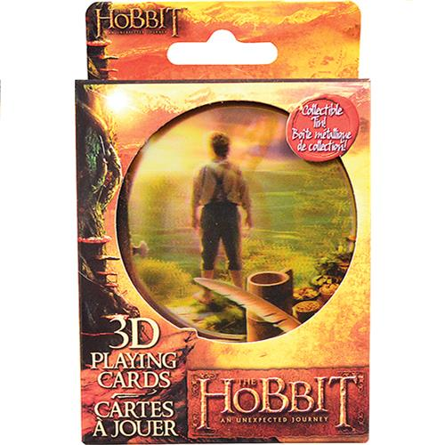 Wholesale THE HOBBIT 3D PLAYING CARDS TI
