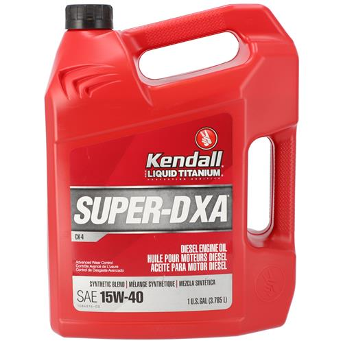 Wholesale 1gal KENDALL SUPER-D XA 15W40 DIESEL ENGINE OIL SYNTHETIC BLEND