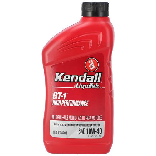 Wholesale 1 QT KENDALL 10W40 GT-1 HP SN+ - 1081200 - REPLACES 15040