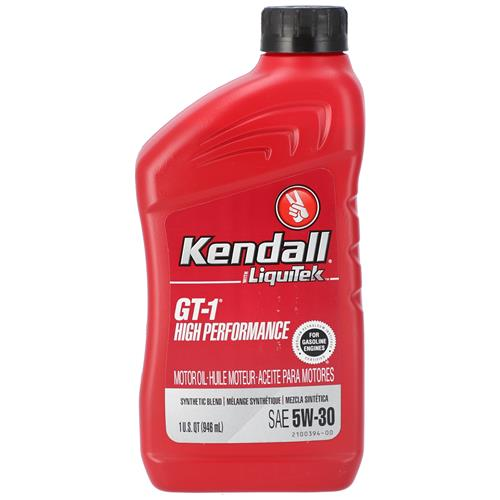 Wholesale 1QT KENDALL 5W30 MOTOR OIL SYNTHETIC BLEND