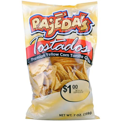 Wholesale Pajeda's Yellow Round Tortilla Chip - NEW!