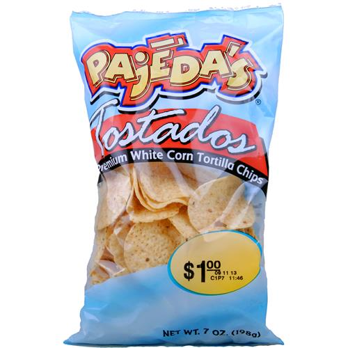 Wholesale Pajeda's White Round Tortilla Chip - NEW!