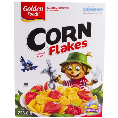Wholesale Golden Foods Corn Flakes Cereral