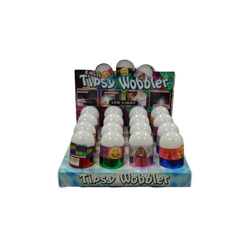 Wholesale Emoji Tipsy Wobbler LED Light