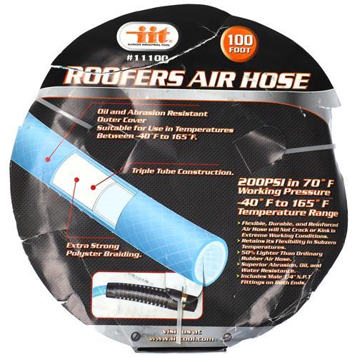 """Wholesale 100' x 1/4"""" Roofers Air Hose"""