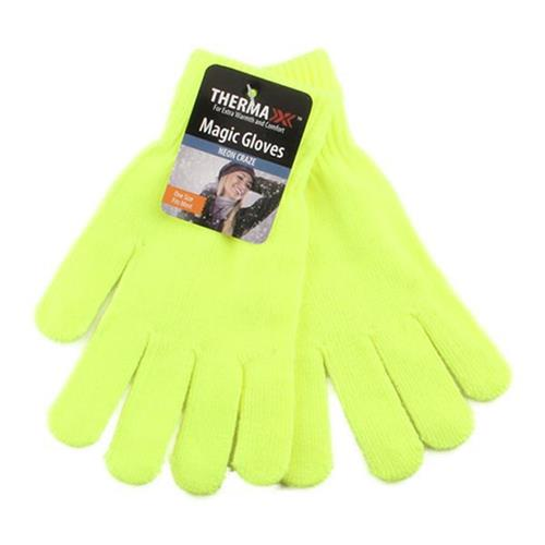 Wholesale THERMAXXX WINTER MAGIC GLOVE NEON