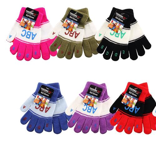 Wholesale Glove Kids Magic with 123 & ABC Assorted Colors