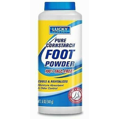 Wholesale LUCKY FOOT POWDER CORNSTARCH 5OZ