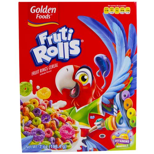 Wholesale Golden Foods Fruiti Rolls Cereal  exp 9/23/15