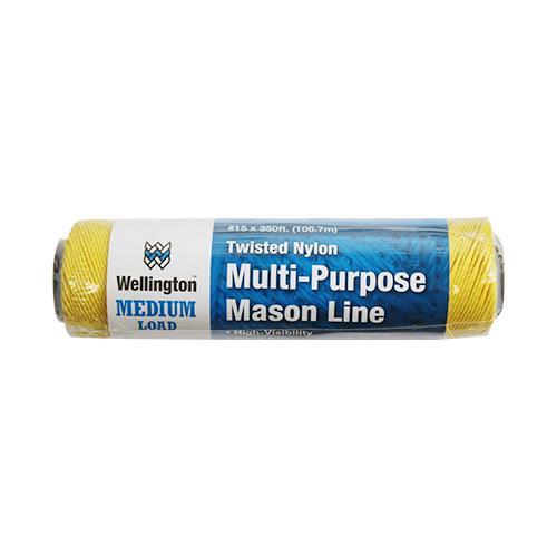 Wholesale #15 X 350' TWISTED NYLON MASON LINE GOLD 8LB LOAD LIMIT