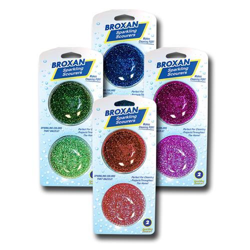 Wholesale 2pk Sparkling Scourers BRX-0213