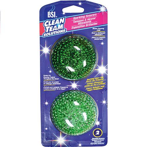 Wholesale 2pk Sparkling Scourers