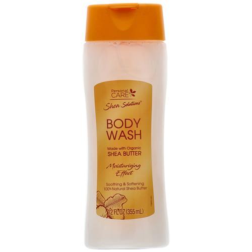Wholesale Body Wash Organic Shea Butter 12 oz