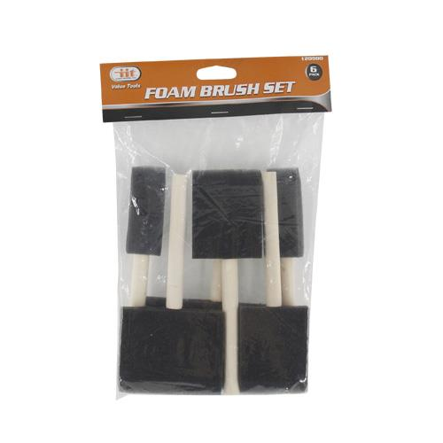 Wholesale 6pk FOAM BRUSH SET