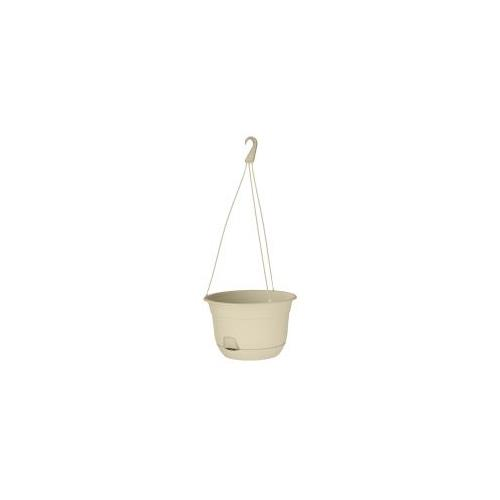 """Wholesale 12"""" SELF WATERING HANGING PLANTER BEIGE or GREEN COLOR"""