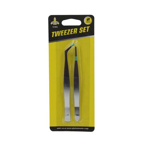 Wholesale 2pc TWEEZER SET