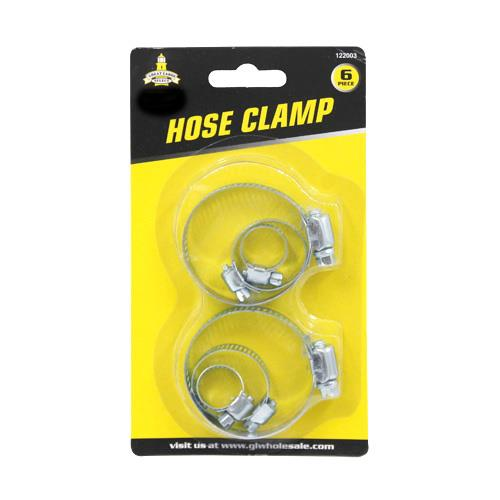 Wholesale 6pc HOSE CLAMPS
