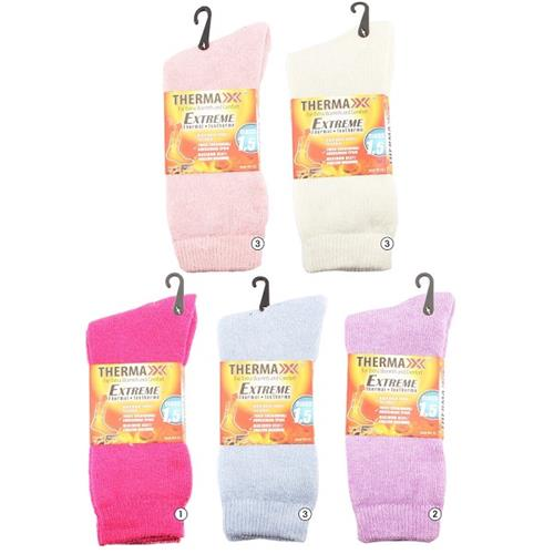 Wholesale WINTER THERMAL SOCKS LADIES SO