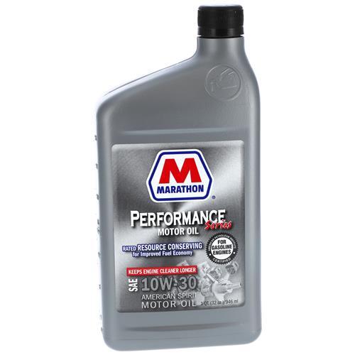 Wholesale 1QT MARATHON 10W30 MOTOR OIL