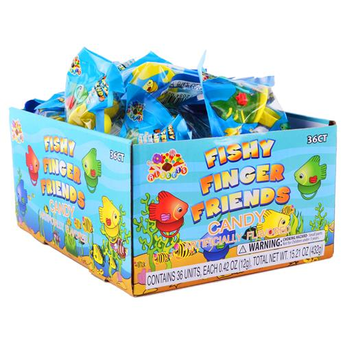 Wholesale Fishy Finger Candy Rings CD