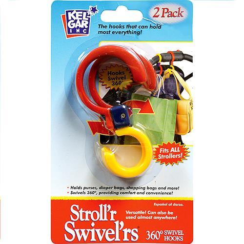 Wholesale Stroll'r Swivel'rs Hooks. 360 ° 2 ct.