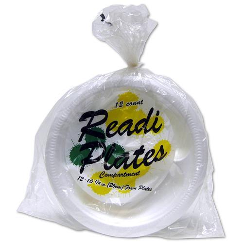 """Wholesale Readi Foam Plates Compartment 10-1/4"""""""