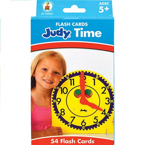 Wholesale Z54ct JUDY TIME FLASH CARDS -5