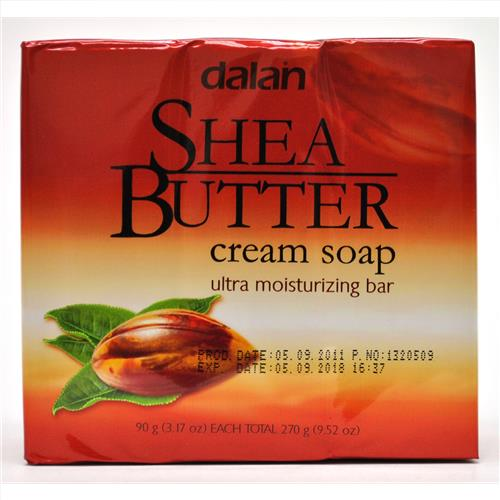 Wholesale Dalan Shea Butter Cream Soap 3.2 oz