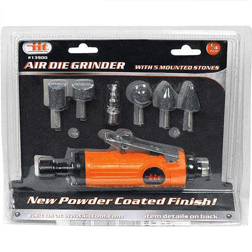 "Wholesale 1/4"""" Air Die Grinder with 5 Mounted Stoned"